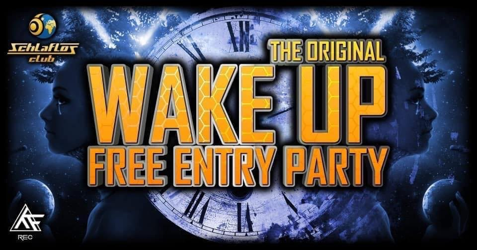 Party Flyer WAKE UP❤️ 13 Mar '20, 22:00
