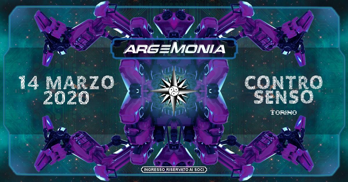 Party Flyer ☾ Argemonia ☽ 14 Mar '20, 23:00