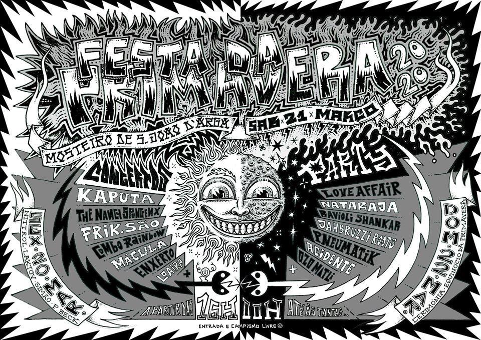 Party Flyer Festa da Primavera 2020 20 Mar '20, 19:00