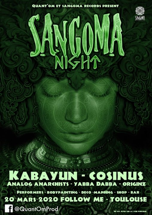 Party Flyer LABEL NIGHT #2 w/ Kabayun, Cosinus & More 20 Mar '20, 22:00