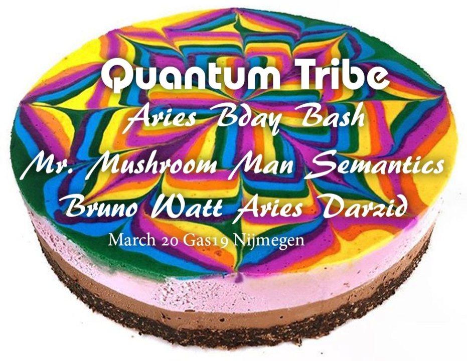 Party Flyer Quantum Tribe (journey into psytrance) 20 Mar '20, 23:00
