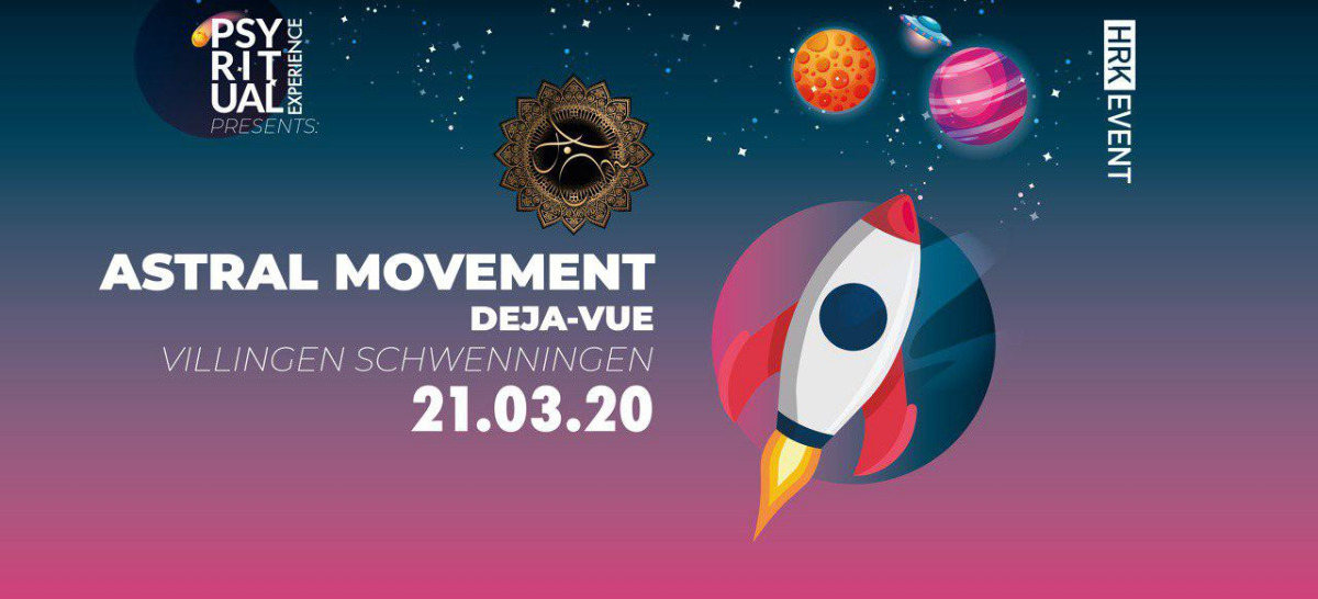 Party Flyer PsyRitual Experience pres. Astral Movement (Live) 21 Mar '20, 22:00