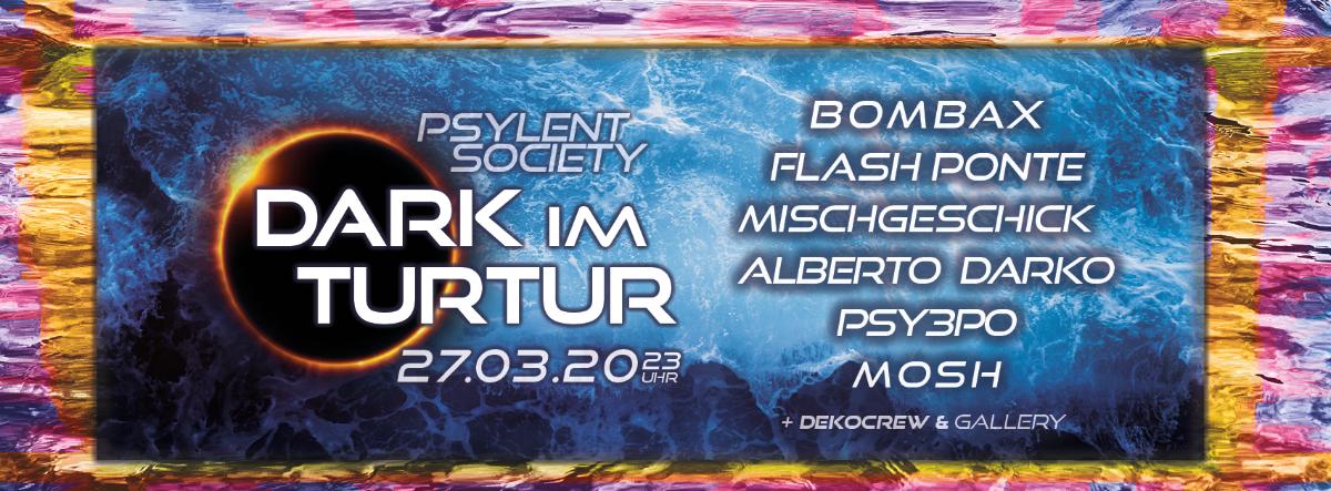 Party Flyer Dark im Turtur #4 27 Mar '20, 23:00