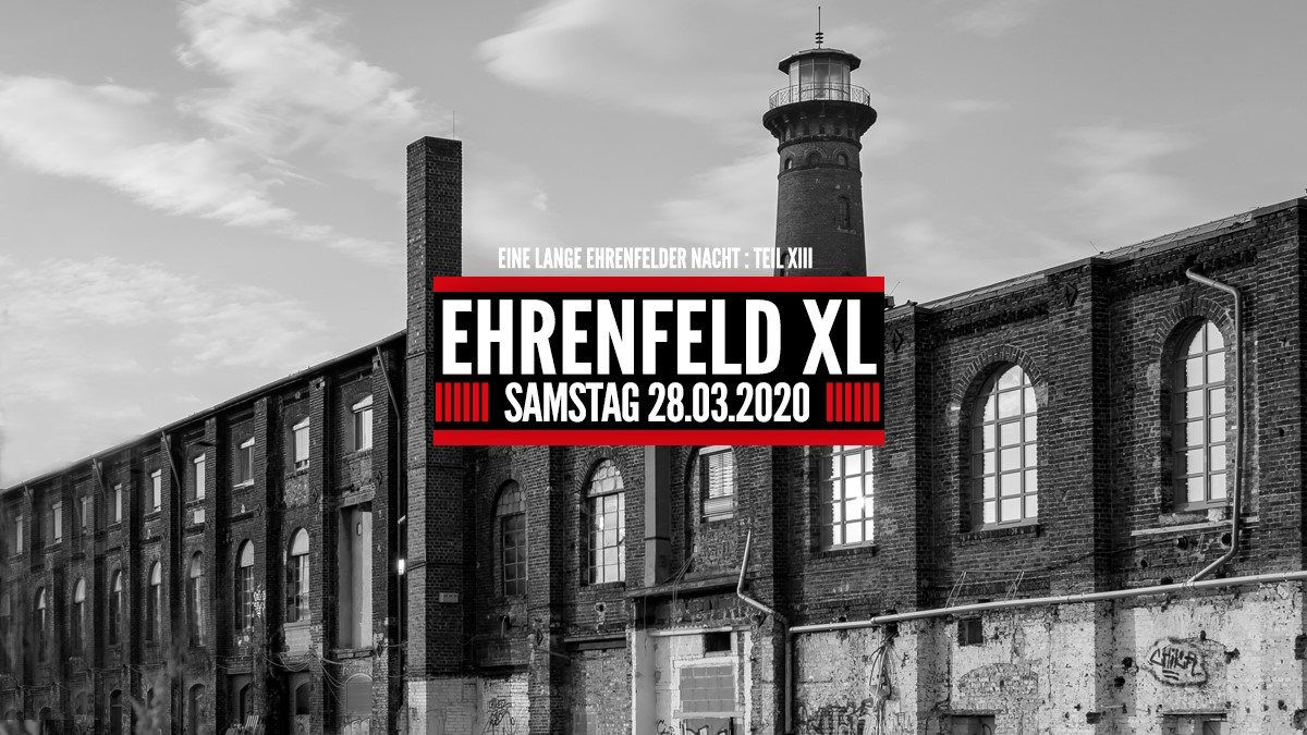 Ehrenfeld XL 28 Aug '20, 22:00