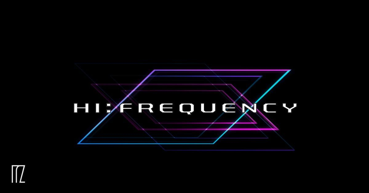 Party Flyer hi:frequency w/IO Records 3 Apr '20, 23:00