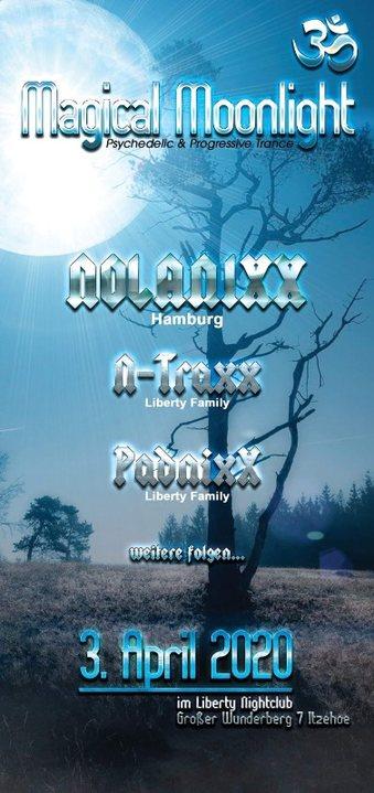 Party Flyer Magical Moonlight 3 Apr '20, 22:00
