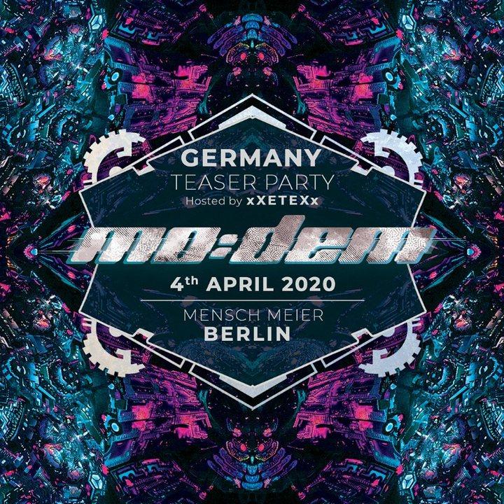 Party Flyer Mo:Dem Festival Official Teaser Berlin 2020 4 Apr '20, 23:30
