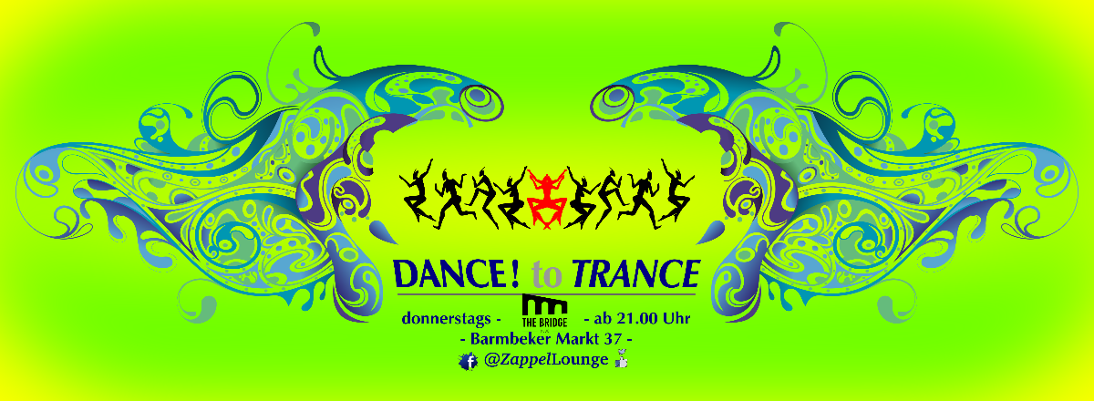 Party Flyer DANCE! to TRANCE 9 Apr '20, 21:00