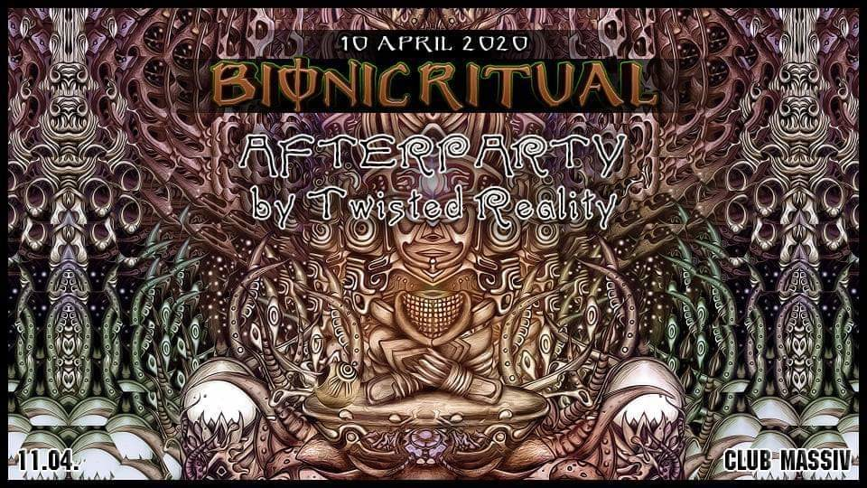 Party Flyer Bionic Ritual Afterparty 11 Apr '20, 06:00