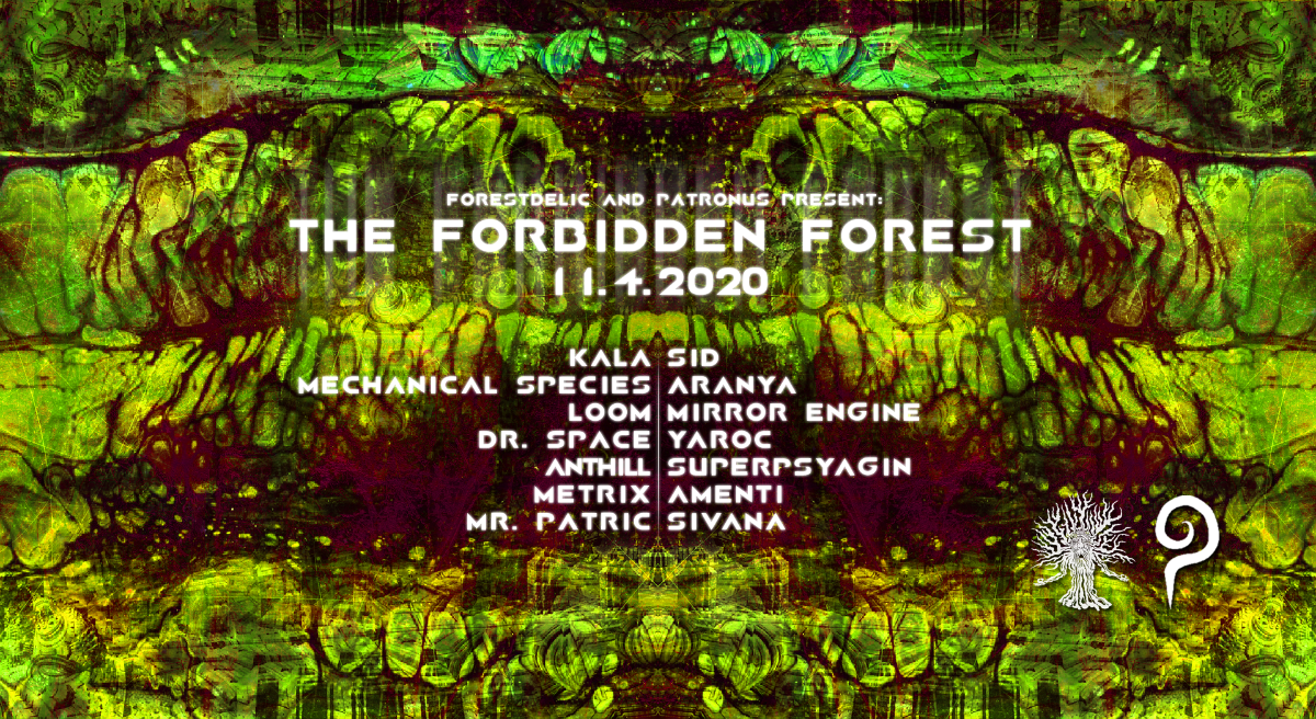 Party Flyer The Forbidden Forest 11 Apr '20, 22:00