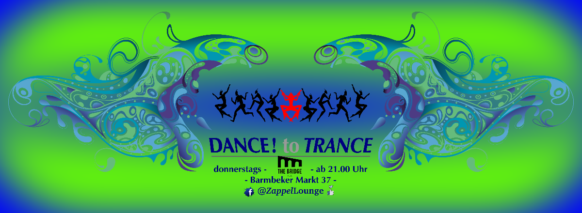 Party Flyer DANCE! to TRANCE 10 Feb '20, 22:00