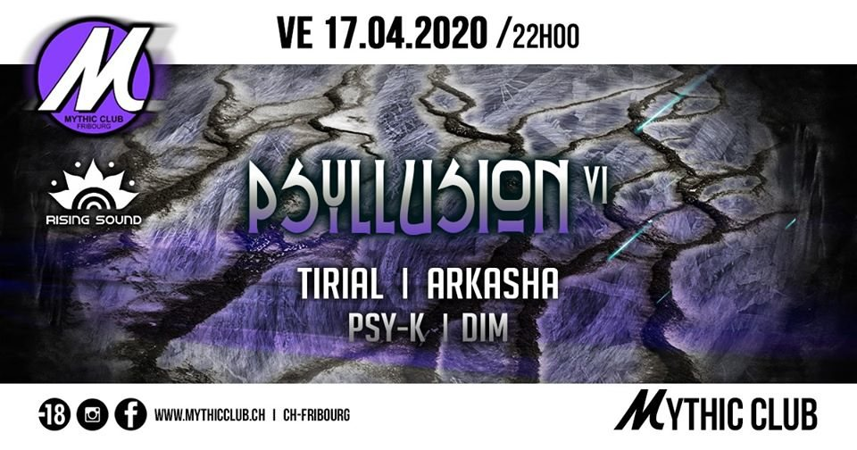 Psyllusion VI w/ Tirial, Arkasha 17 Apr '20, 22:00