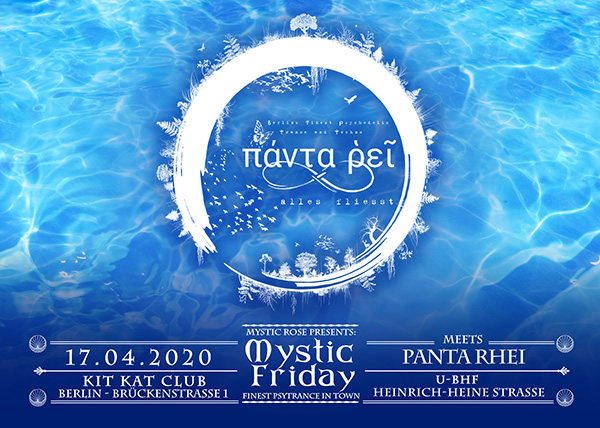 The Mystic Rose meets Panta Rhei 17 Apr '20, 23:00