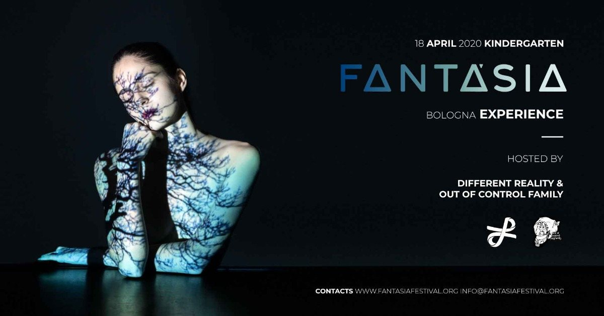 Party Flyer Fantàsia Festival Bologna Experience 18 Apr '20, 23:00
