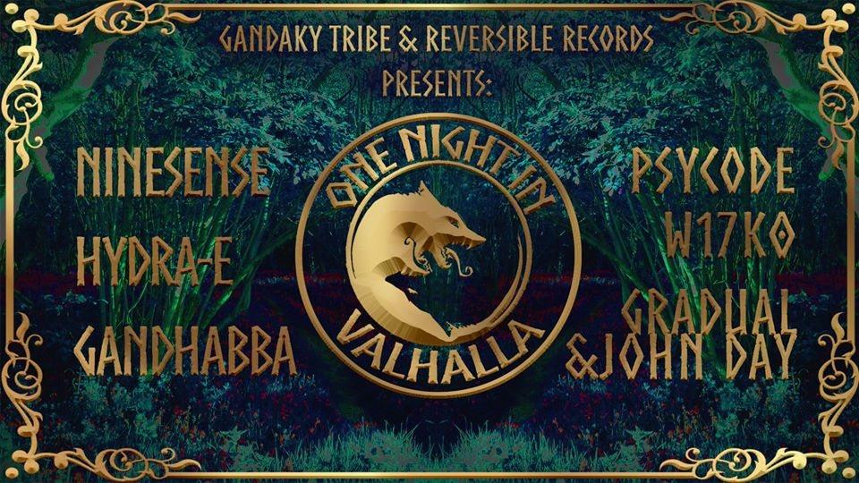 Party Flyer One Night in Valhalla • 18 April 2020 • Black Swan Bristol 18 Apr '20, 22:00