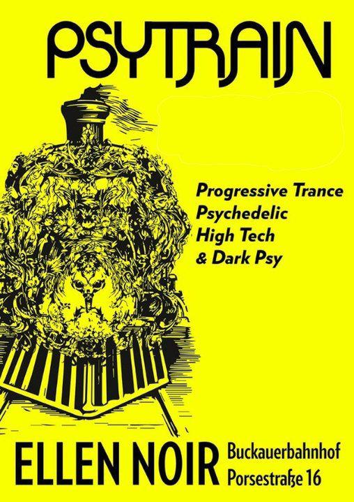 Party Flyer PSYTRAIN 11 Apr '20, 22:00