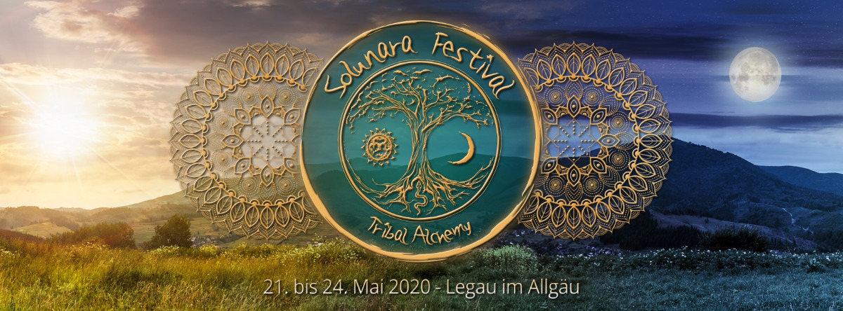 Party Flyer Solunara Festival - Tribal Alchemy (sound&healing festival) 21 May '20, 10:00