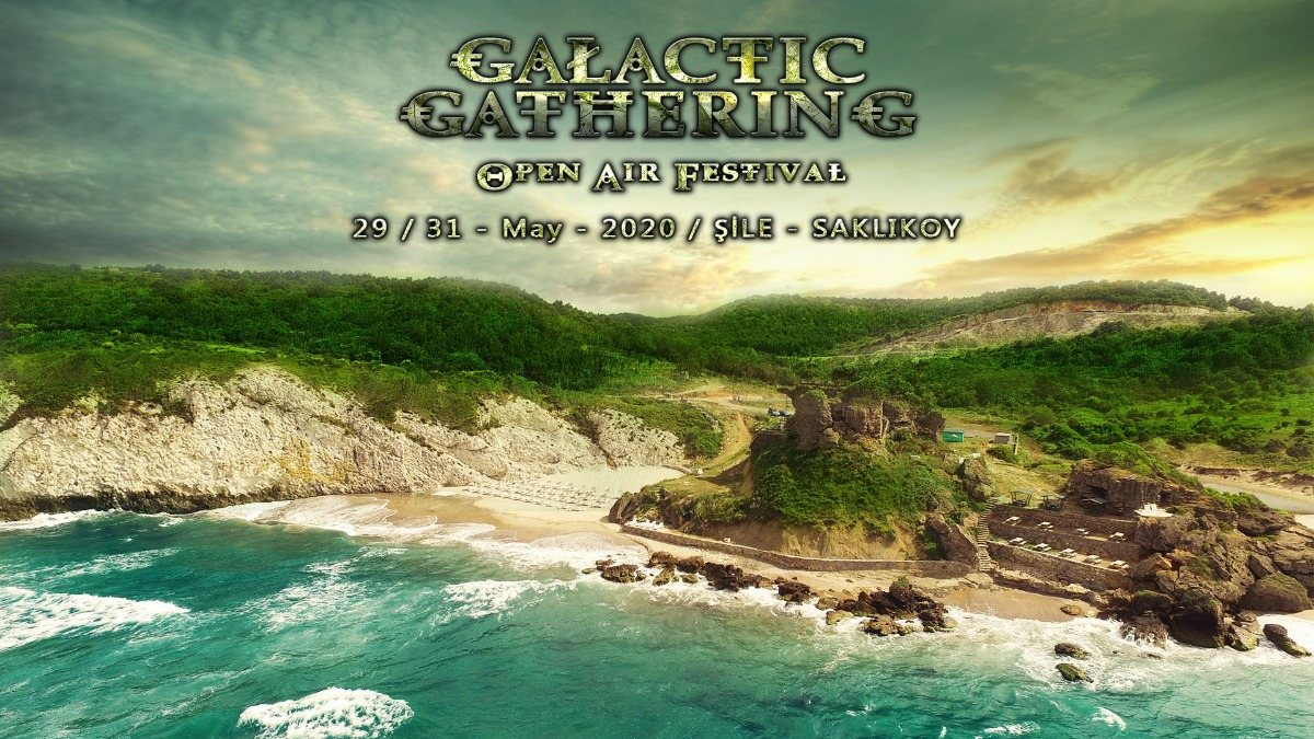 Party Flyer Galactic Gathering Festival 2020 29 May '20, 12:30