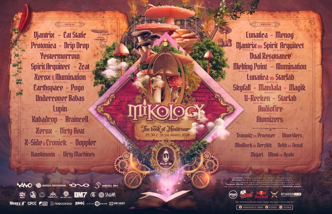 Party Flyer MIKOLOGY FESTIVAL 2020 29 May '20, 14:00
