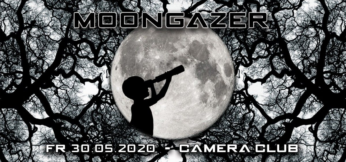 Party Flyer MOONGAZER - Psychedelic Night 30 May '20, 22:00