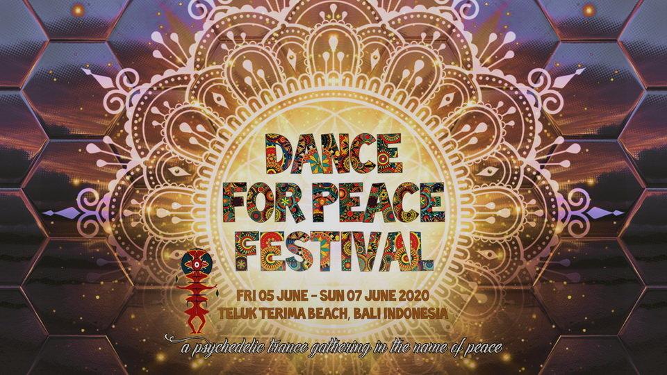 Party Flyer Dance For Peace Festival 5 Jun '20, 12:00
