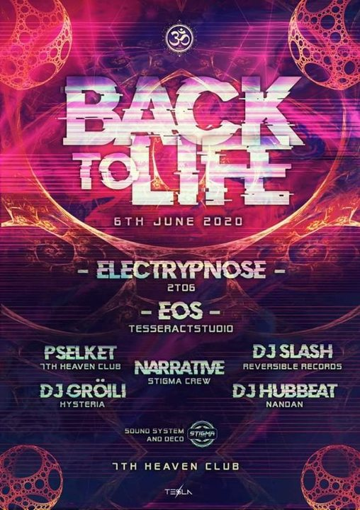 Party Flyer Nack 2 Life 6 Jun '20, 15:00