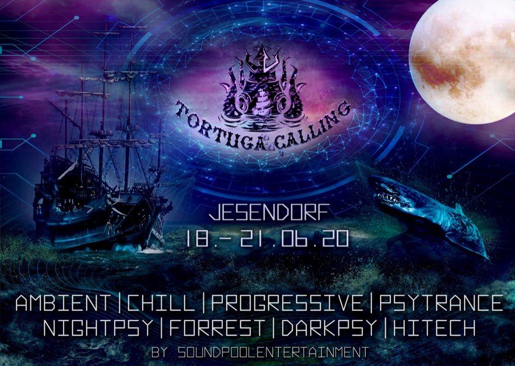 Party Flyer Tortuga Calling Festival 18 Jun '20, 20:00