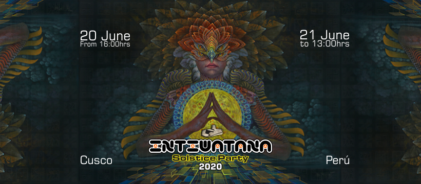 Party Flyer Intiwatana - Solstice Party 20 Jun '20, 16:00