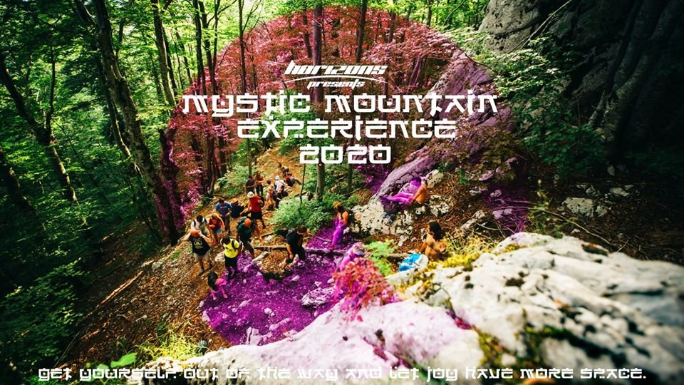 Party Flyer Mystic Mountain Experience 22 Jun '20, 11:00