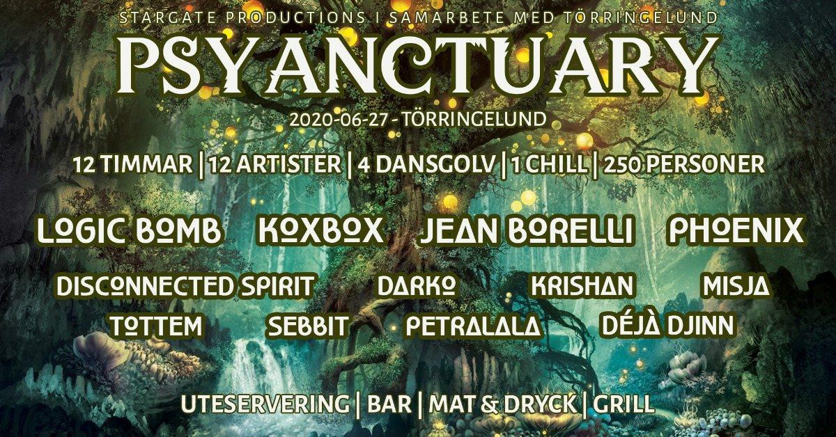 Party Flyer PSYANCTUARY 27 Jun '20, 13:30