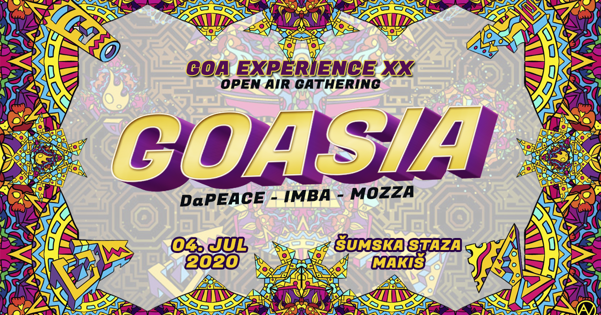 GOA EXPERIENCE XX 4 Jul '20, 23:00