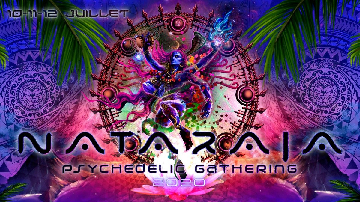 Party Flyer Nataraja Psychedelic Gathering 2020 10 Jul '20, 13:00