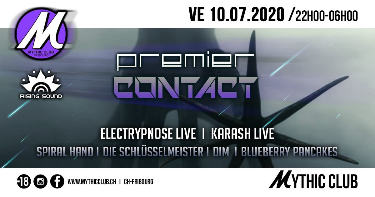 Party Flyer Premier Contact 10 Jul '20, 22:00