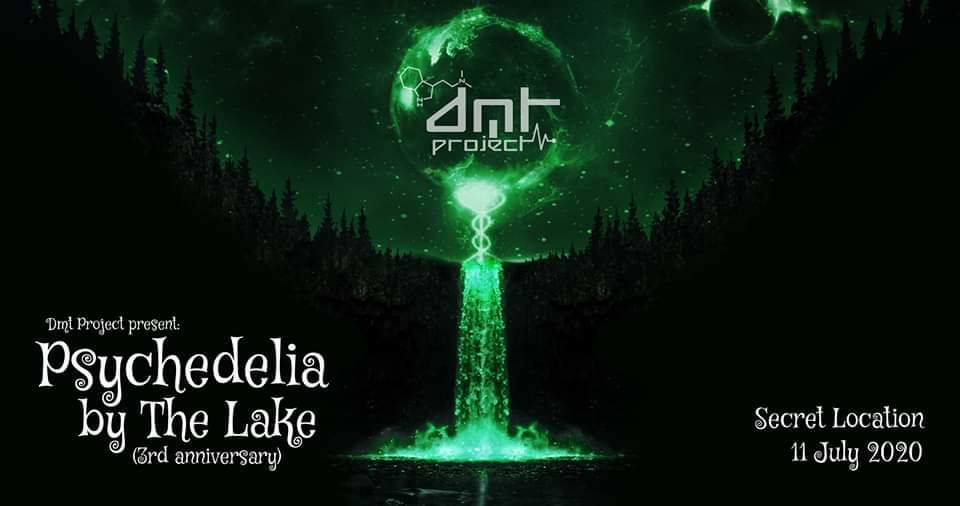 Party Flyer Psychedelia of the Lake (Pre Party Tirana) 11 Jul '20, 21:00