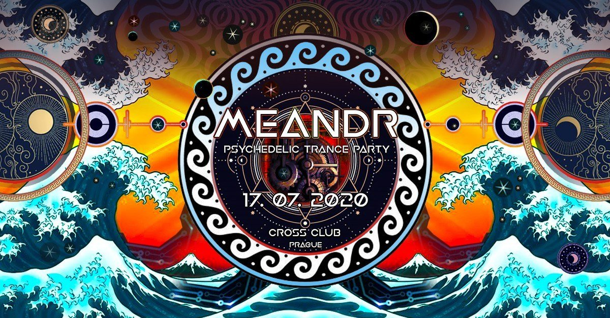 Meandr - Psychedelic trance party 17 Jul '20, 18:00