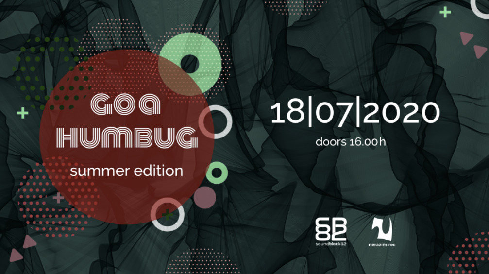 Party Flyer Goa Humbug - Summer Edition 18 Jul '20, 16:00