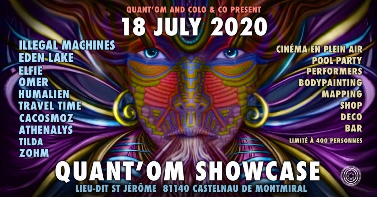 Party Flyer Quant'Om Showcase 1 Colo & Co 18 Jul '20, 22:00