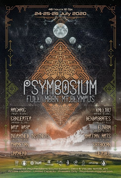 Psymbosium mt.Olympus 24 Jul '20, 17:00