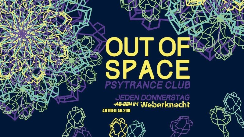OUT of SPACE 6 Aug '20, 20:00