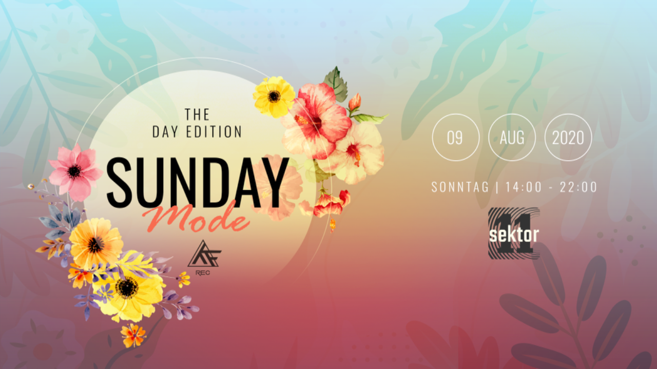 ♫★ SundayMode5♫★ See You Next Year Streetparade ;( w// Si-Moon 13 Sep '20, 15:00