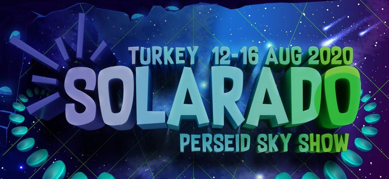 Party Flyer Solarado Festival Perseid Sky 12 Aug '20, 18:00