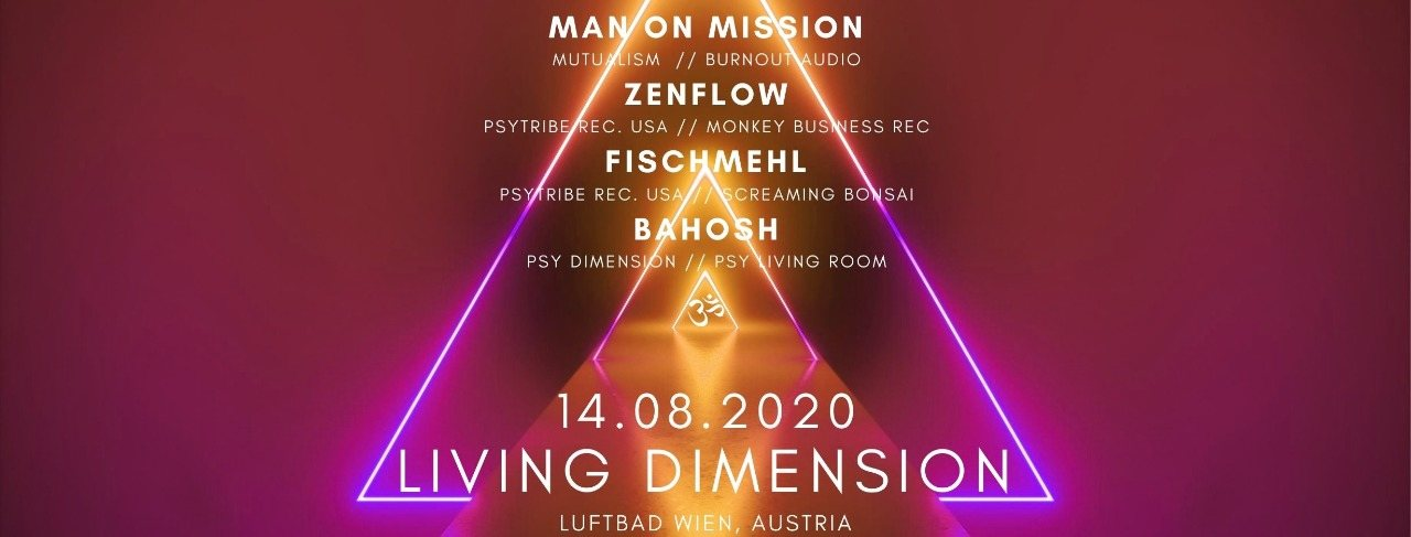 Living Dimension #2 14 Aug '20, 19:00