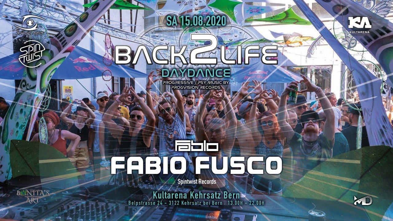 ༺★ BACK 2 LIFE DAYDANCE ★༻ Round 4 w/ FABIO FUSCO 15 Aug '20, 13:00