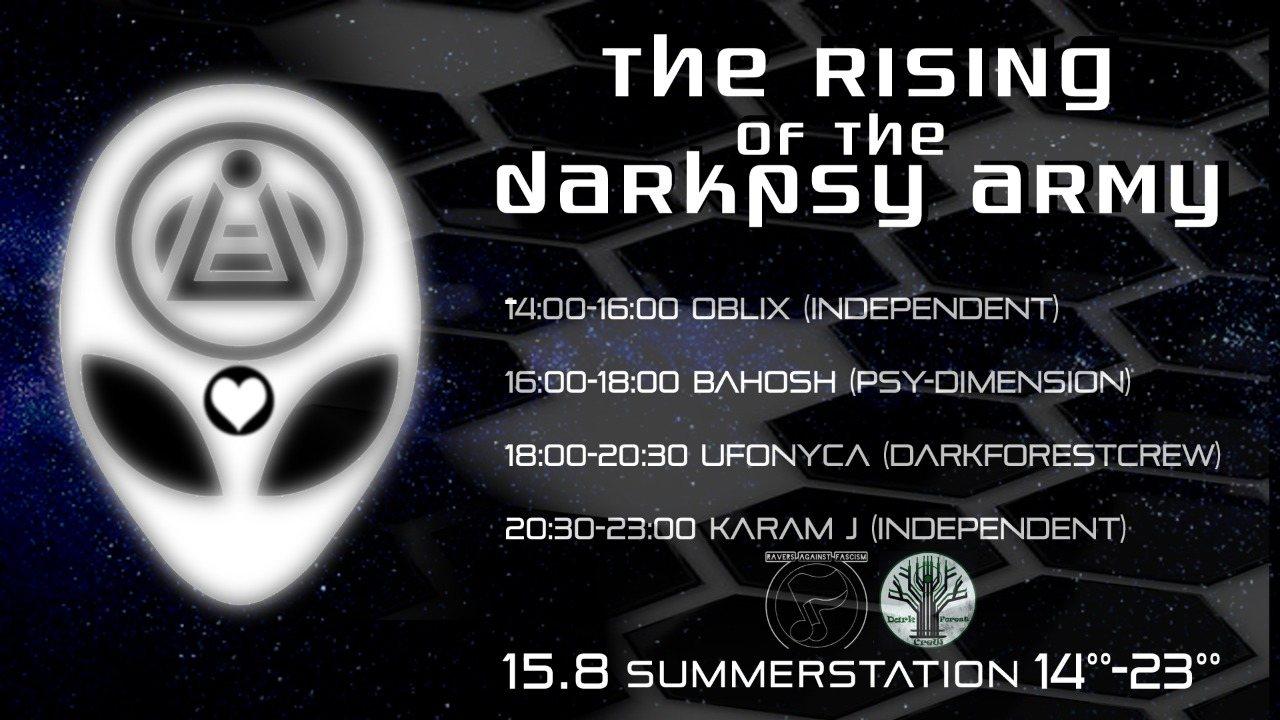 The Rising of the Darkpsy Army 15 Aug '20, 14:00