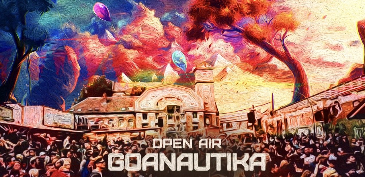 Party Flyer Goanautika Open Air/w. Fabio Fusco 5 Sep '20, 14:00
