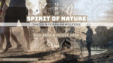 Party Flyer Spirit of Nature 2020 12 Sep '20, 12:00