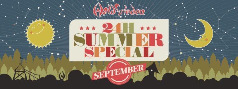 24H Summer Special September 19 Sep '20, 14:00
