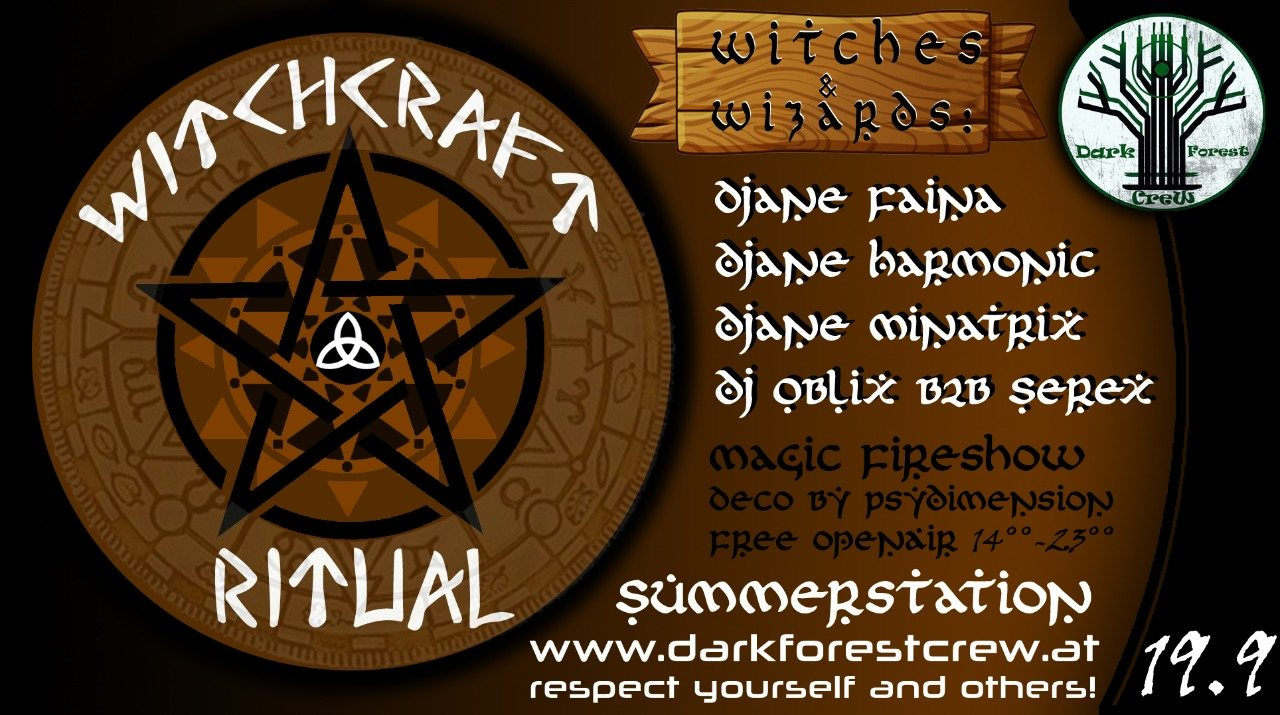 Witchcraft Ritual 19 Sep '20, 14:00
