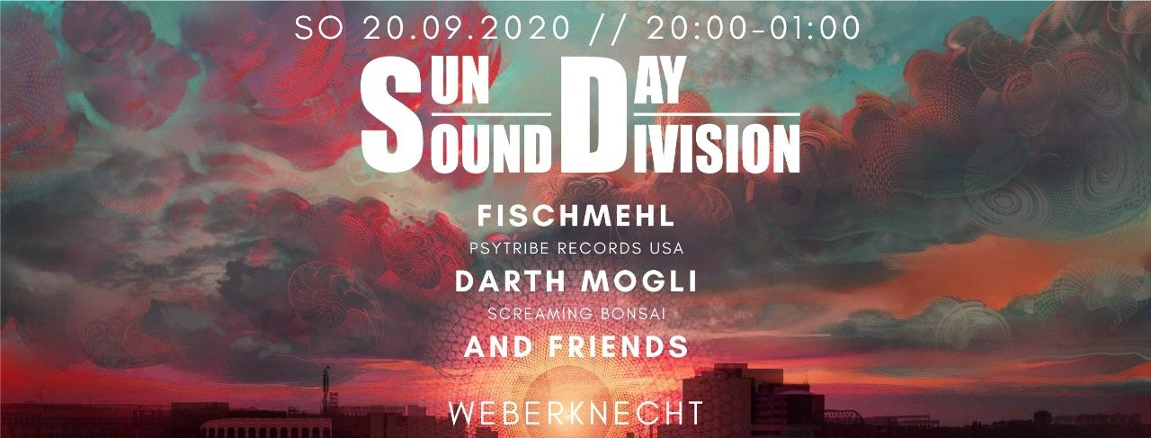 Party Flyer Sun Day Sound Division 20 Sep '20, 20:00