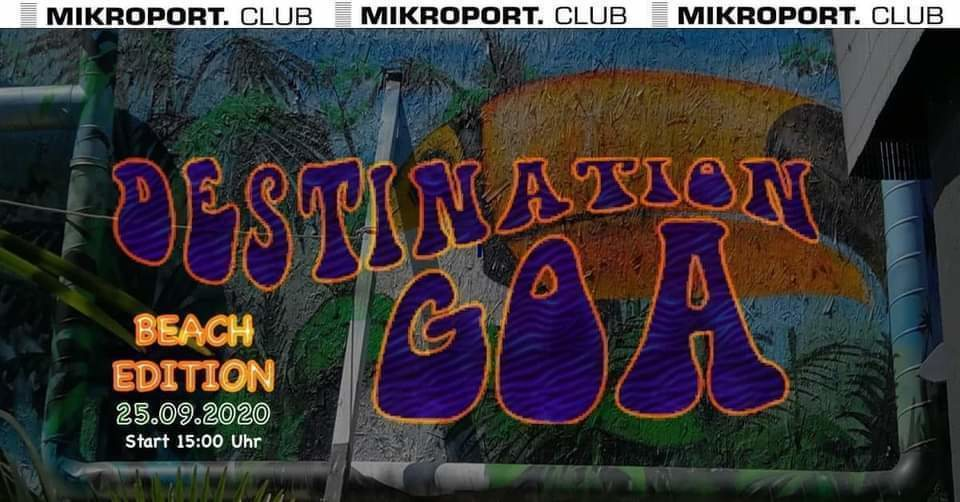 Party Flyer DestinationGoa 25 Sep '20, 17:00